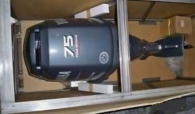 Sales For Used Yamaha 75Hp 4 Stroke Outboard Motor Boat engine
