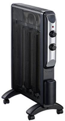 slim mica column heater