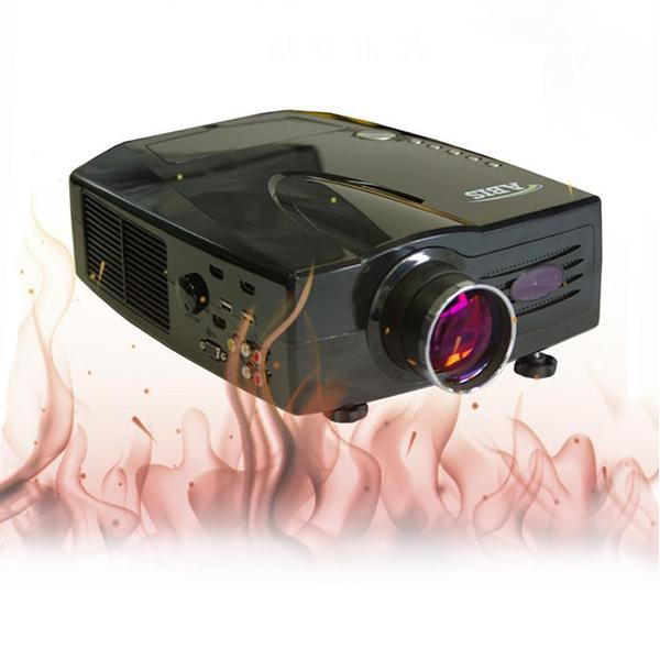 Newest Hot Sale Real 2014 Full HD LED 3D LED Projector Home Theater