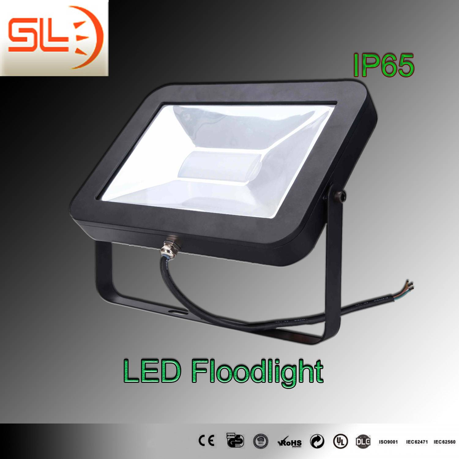 IP65 LED Slim Floodlight with CE RoHS