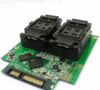 BGA316 test socket SSD Hard disk test fixture test socket with SM2246EN