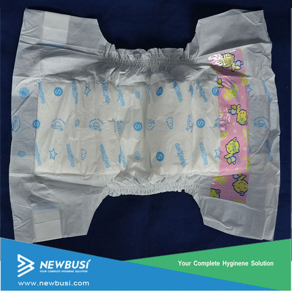Highest absobency disposable organic cotton cost effective baby diaper