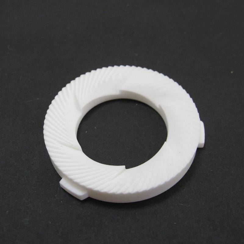 95% alumina ceramic ring with steps