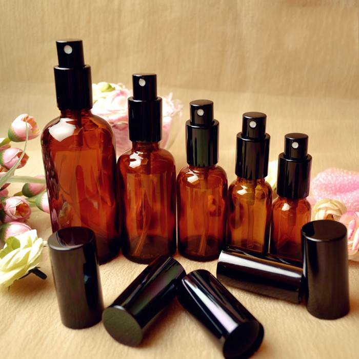 10ml-100ml amber glass perfume bottle