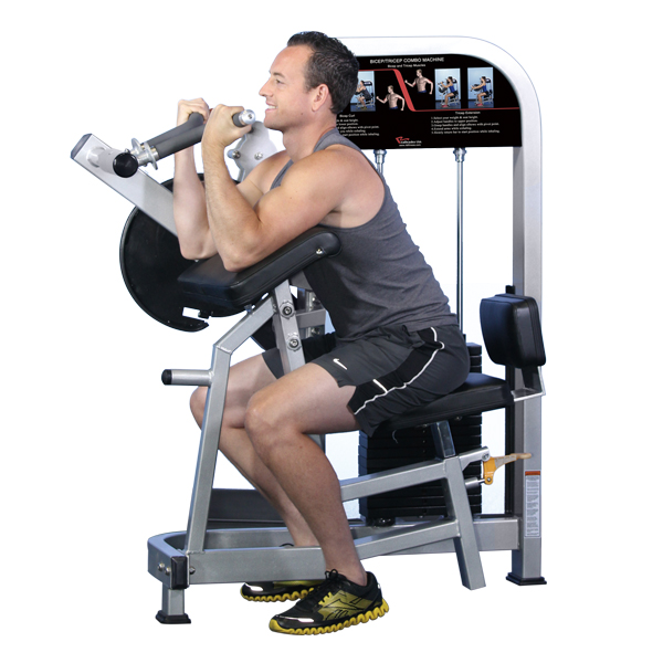 Biceps/Triceps Curl Arm Cycle Exercise Machine Multi Gym Equipment