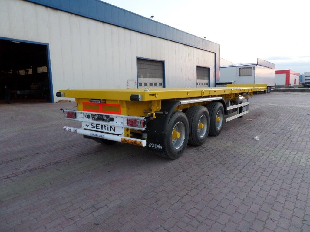 Container Carier Semi Trailer
