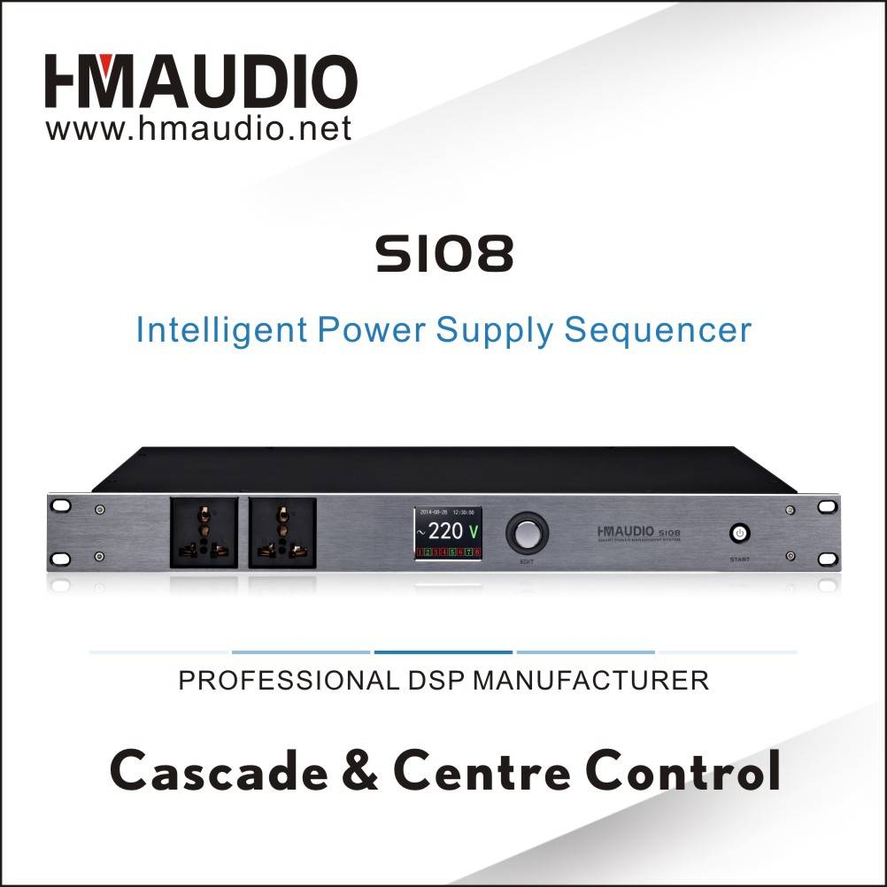 S108 Smart Power Supply Sequencer for controlling
