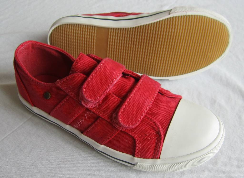 China wholesale high quality plain white canvas shoes