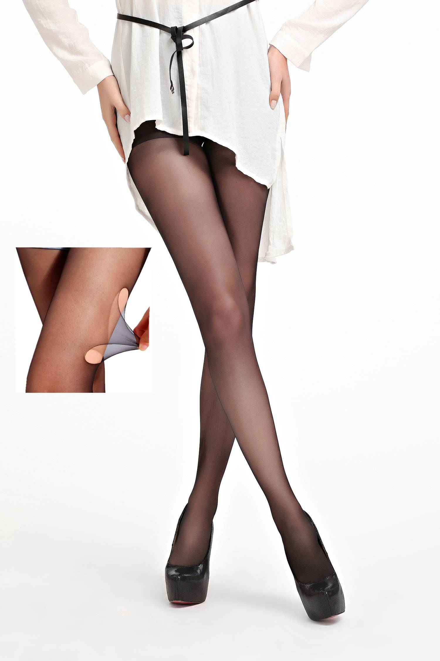 Hot Sale 10D Run Resistant Sheer Tube pantyhose