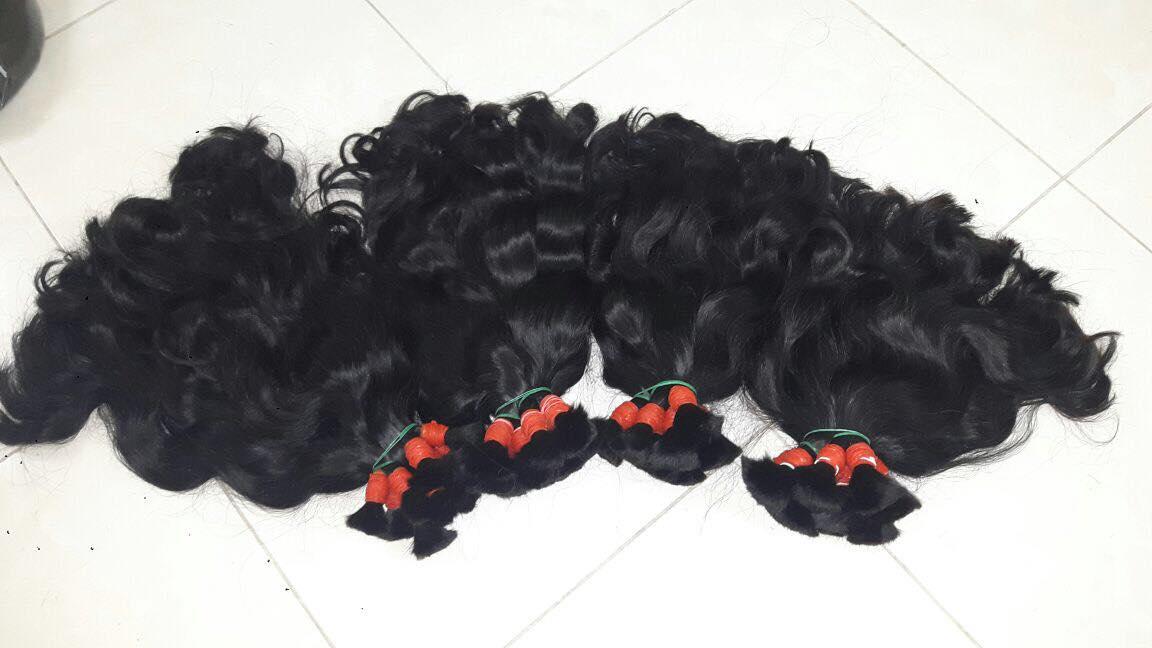 naturcal color bulk hair 100% remy hair vietnamese virgin hair wholesale price