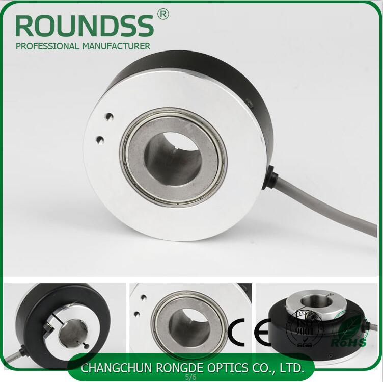 100mm Diameter Rotary Elevator Encoder Optical Hollow Shaft