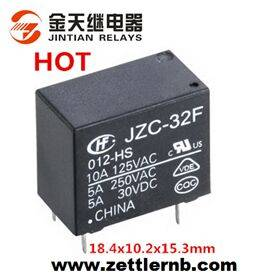 Subminiature PCB Power Relay with High Quality (32F: 1 Form A/C) Relay Factory