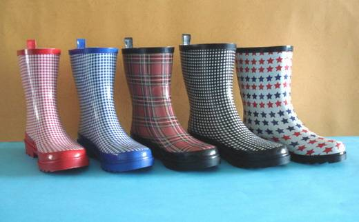 New Fashion Rubber Boots, Rubber Rain Shoes, Rain Shoe,
