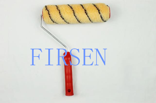 9'' paint roller brush with plastic handle