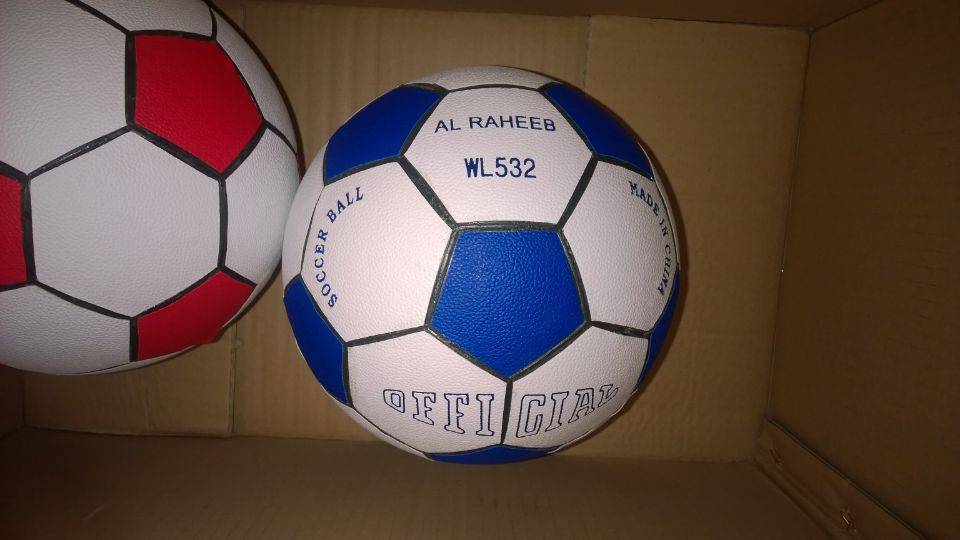 Leather Regenerated football size 5