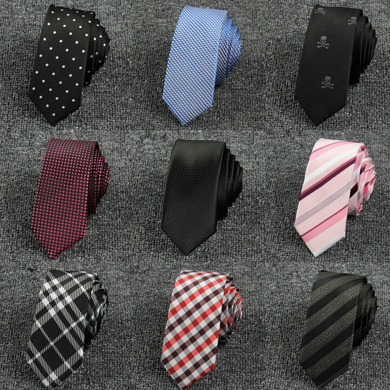 Gentlemen High Quality Polyester 5cm Tie