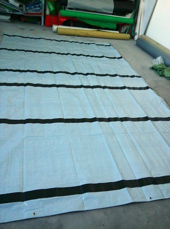 Popular High quality PE laminated tarpaulin hot sale in Africa