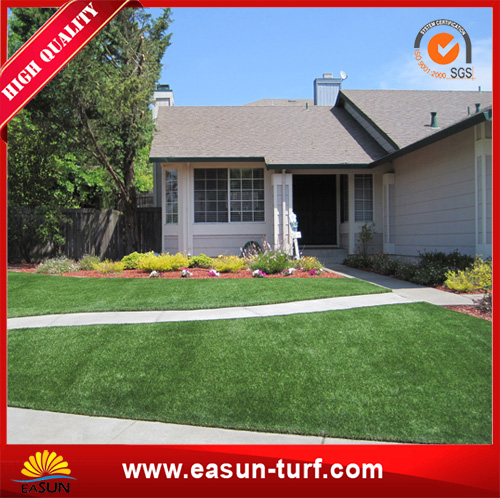 Free sample soft and popular outdoor artificial grass landscaping-AL