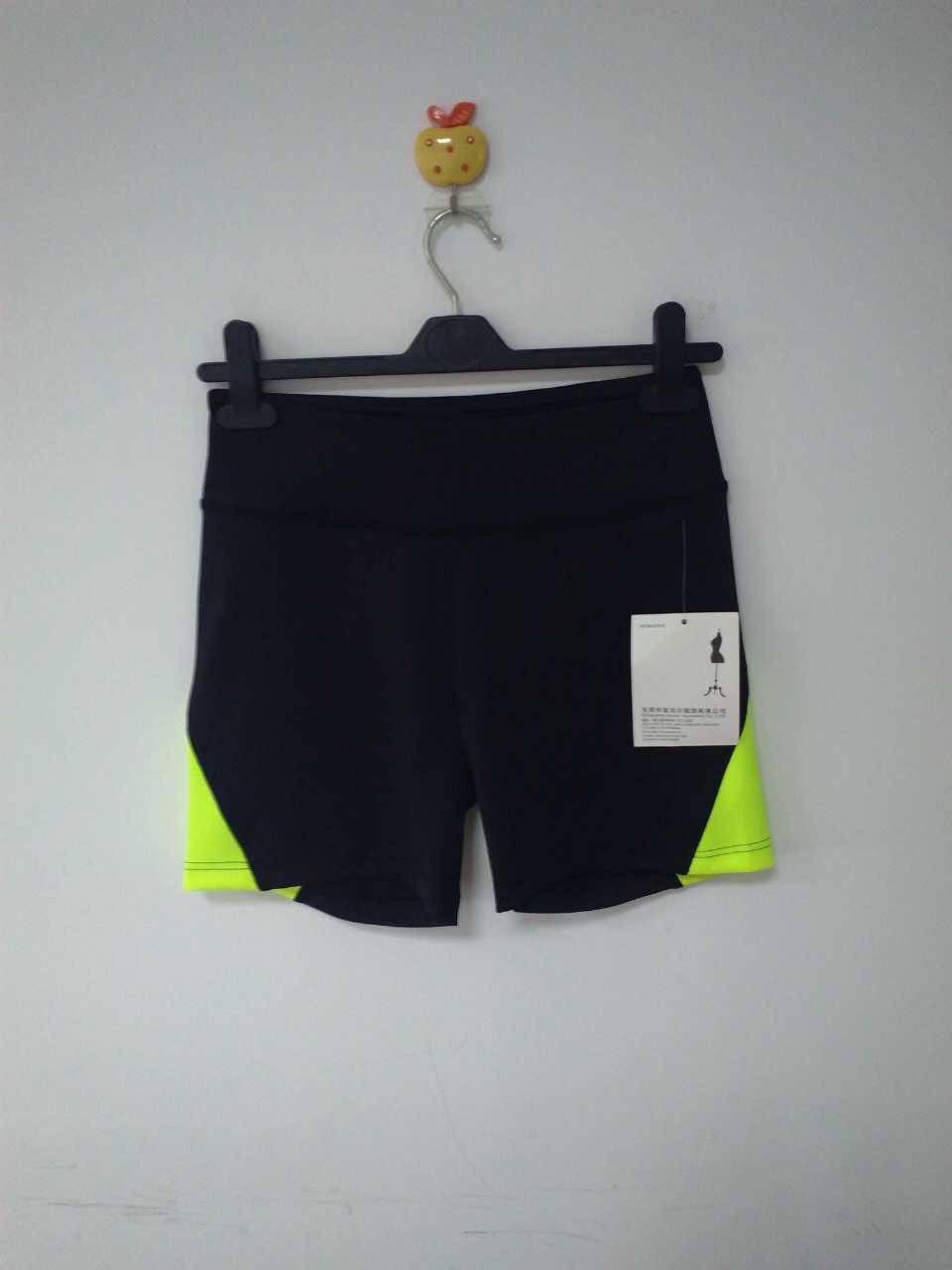 2015 Hot selling yoga short pants for women
