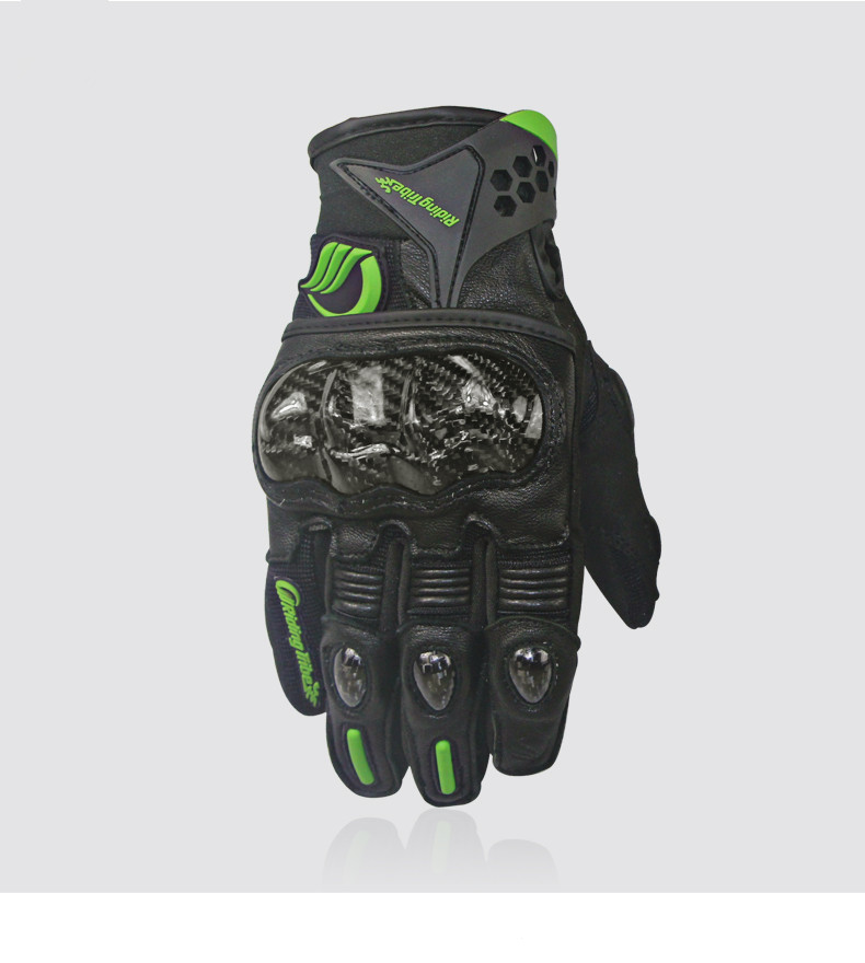 Short Cuff Motorcycle Gloves
