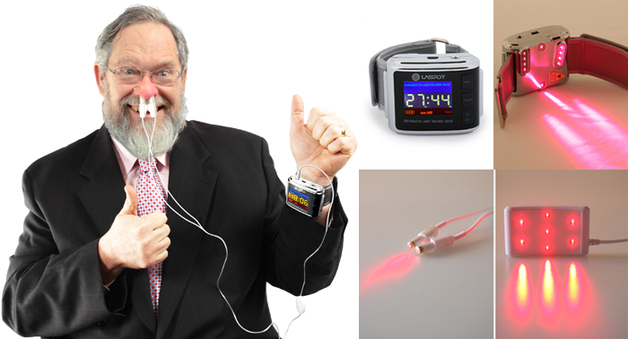 Medical laser therapy device reduce blood pressure and blood sugar