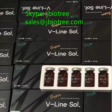 For face/belly/leg Lipolysis solution: V-line SOL, Lipolysis solution Vline sol,Lipolytic solution,