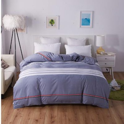Luxury Twin FUll Queen king size soft Duvet cover fiber reactive prints quilt cover only bedding set