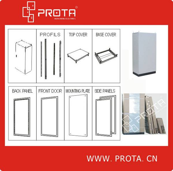 Metal Electrical Floor Standing Cabinet
