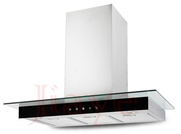 new design T type chimney range hood