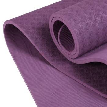 "ECO YOGA MAT: 100% TPE, Extra long at 72"" x 24"" x  6mm thick"