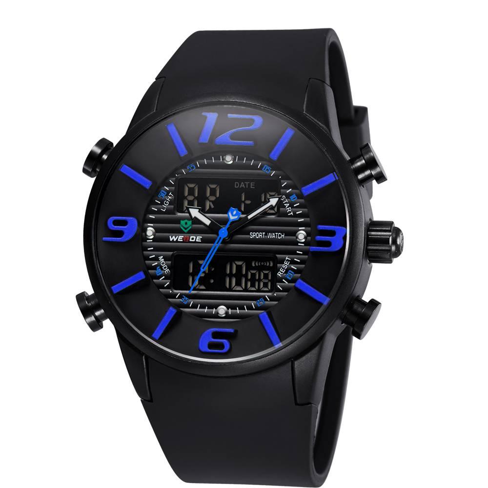 WEIDE 3402 Sport Men Fashion Watches 30M Waterproof Watches