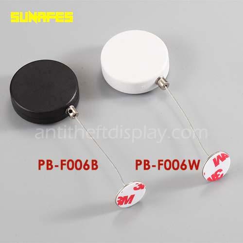 Display Merchandise Recoilers / Cord Winders / Steel Cable Reel For Security Display