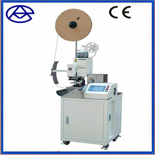 Automatic wire cutting stripping and crimping machine with twisting function