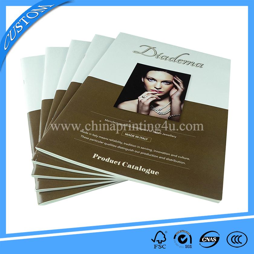 saddle stitch booklet printing cheap book printing china