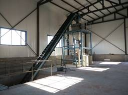 cheap bulk blending fertilizer machine