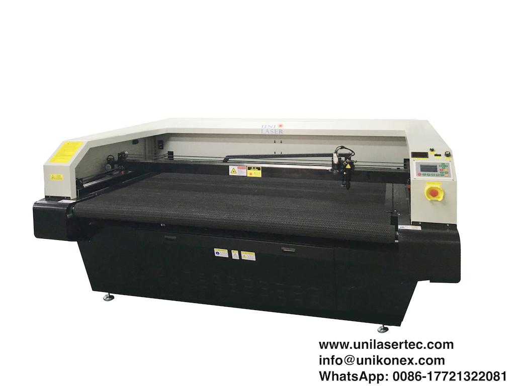 UL-VC 180100 Dye Sublimated Sportswear Laser Cutter