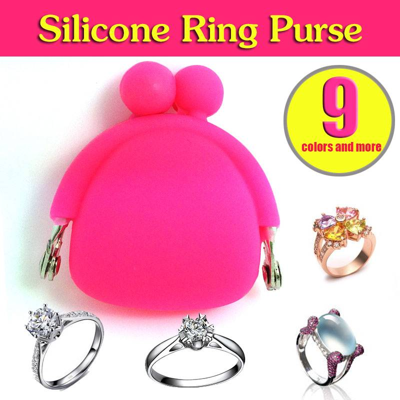 Lovely Cabinet Silicone Ring Purse