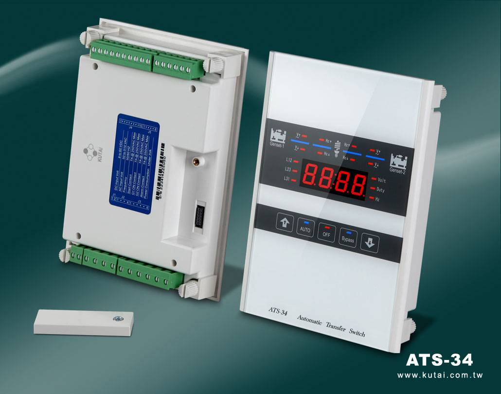 ATS-34 Redundant Automatic Transfer Switch Touch Screen Controller