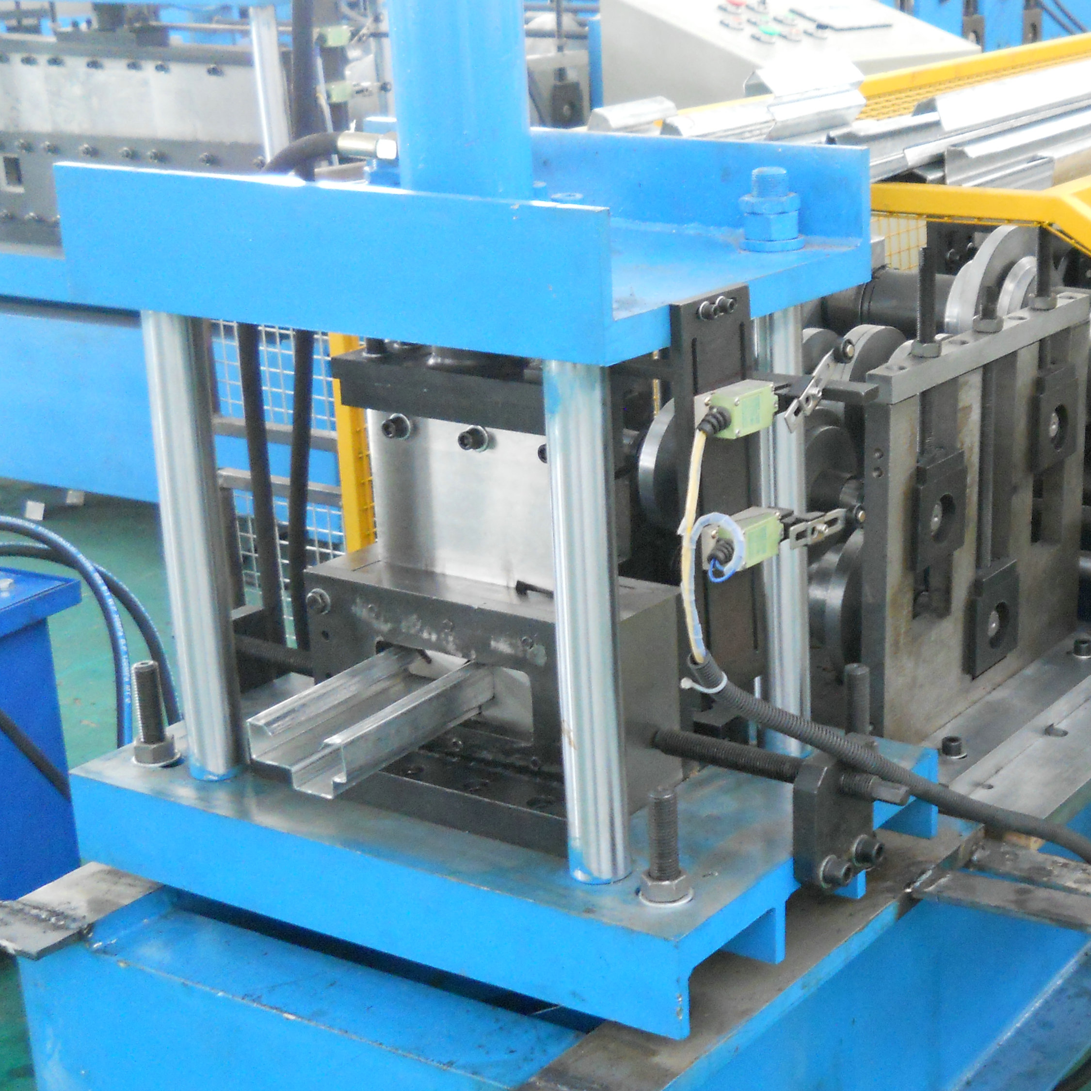 steel door frame making machines