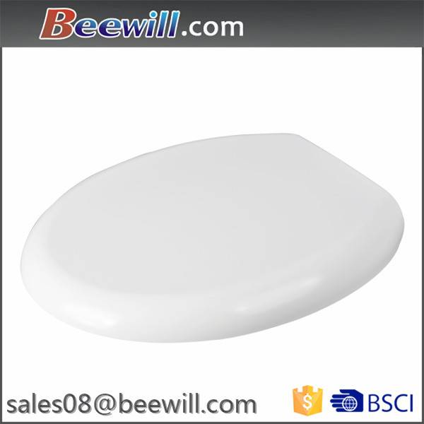 European standard soft close and quick release round duroplast toilet seats