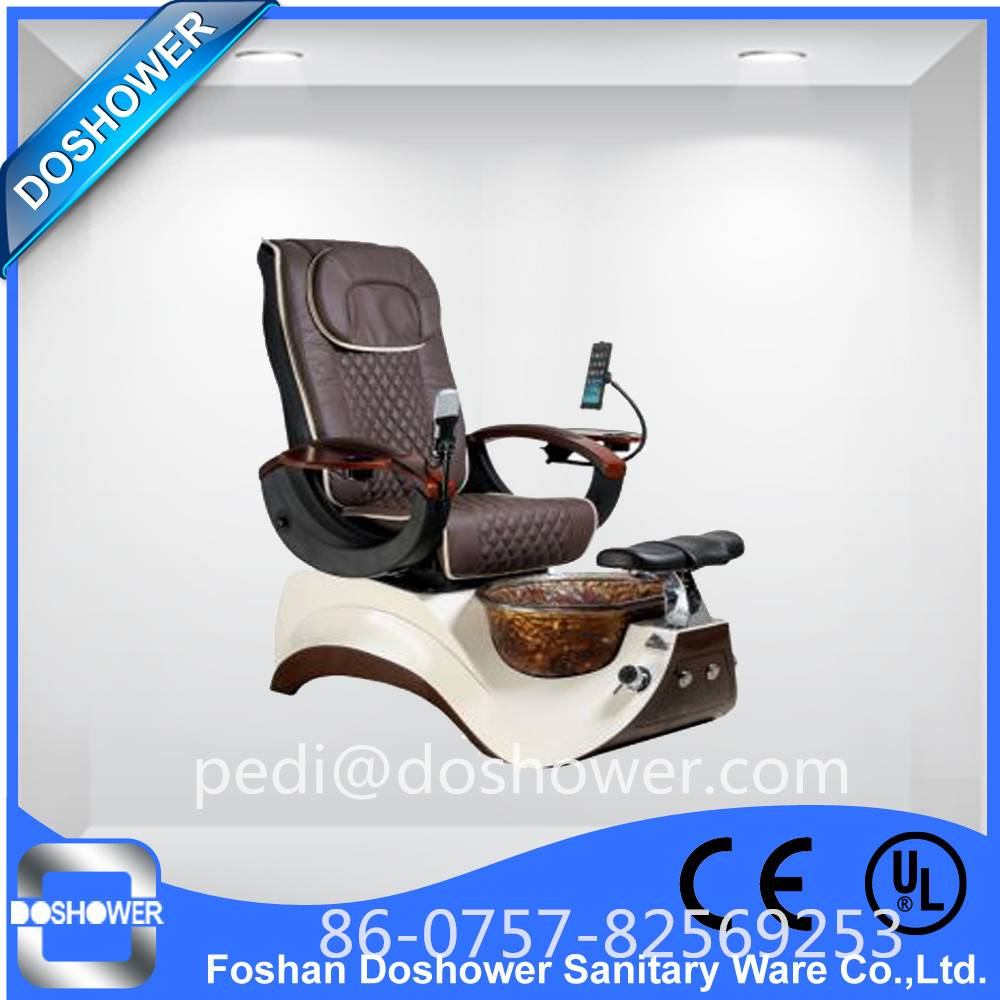 Doshower DS-15 human touch pedicure chairs with manicure tables and pedicure chairs of pedicure set