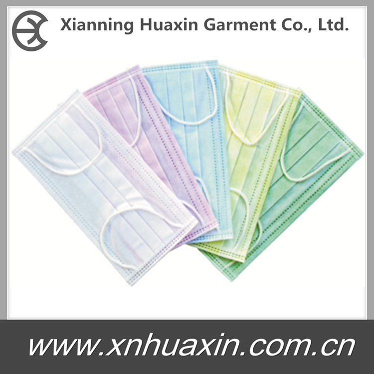 HXM-03:Face mask 3 Ply with earloop