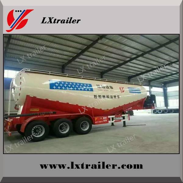 Liangxiang cement bulker / bulk cement tank semi trailer
