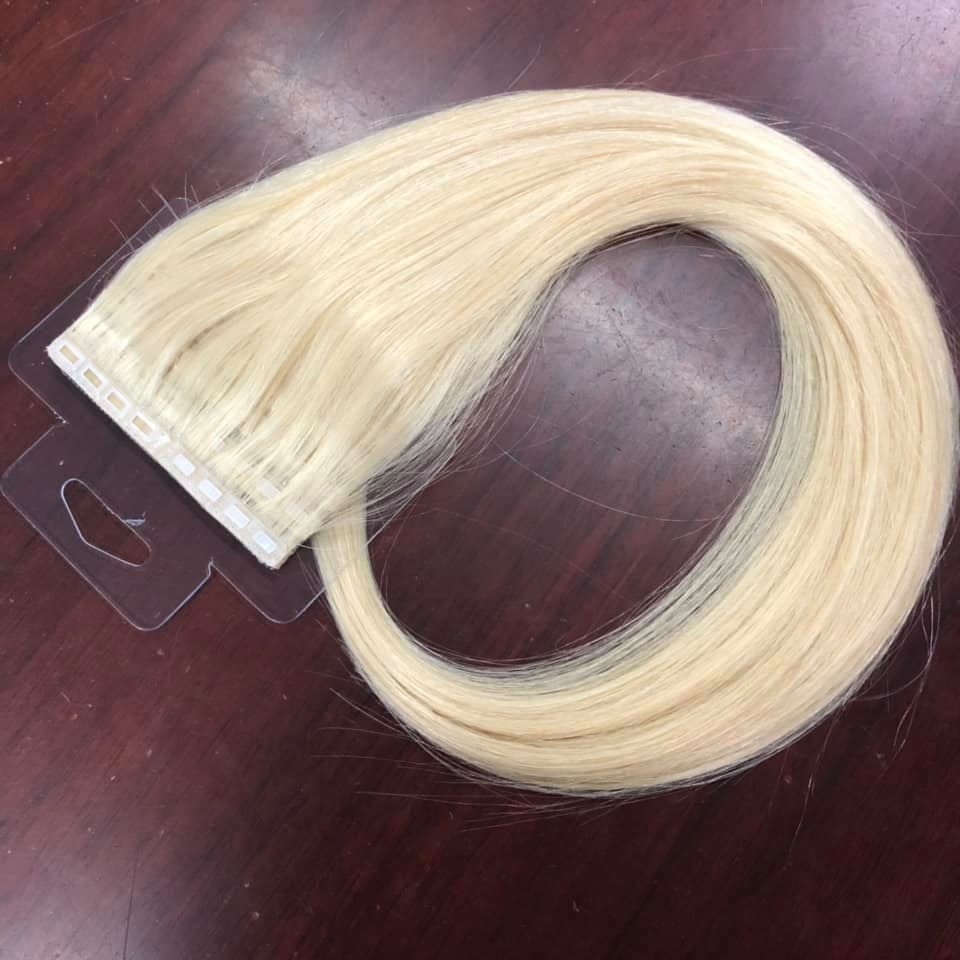 New PU Skin Weft Human Hair Extensions Adhesive Tape