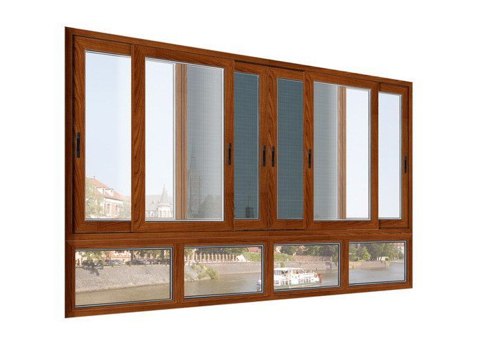 Office sliding glass window / Aluminium double glazed windows and doors comply with Australian stand