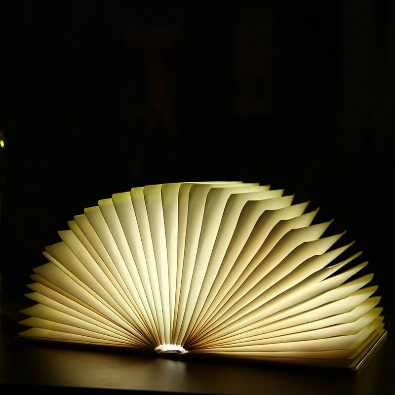 hot new products 2016 LED fold book lamp /notebook shaped