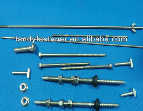 Solar hanger bolt Zinc Coating