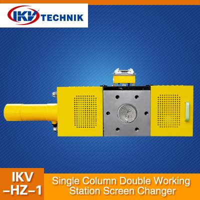 Single Column Double Working Station Screen Changer