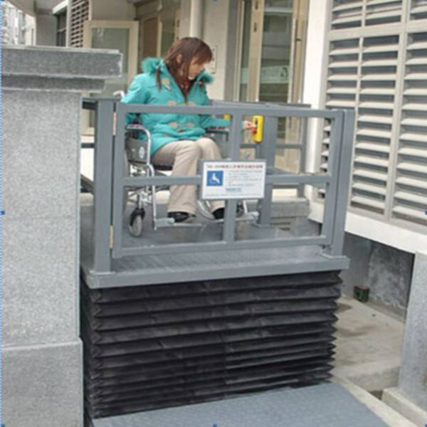 Scissor Lift Home Elevator for Disabled Man