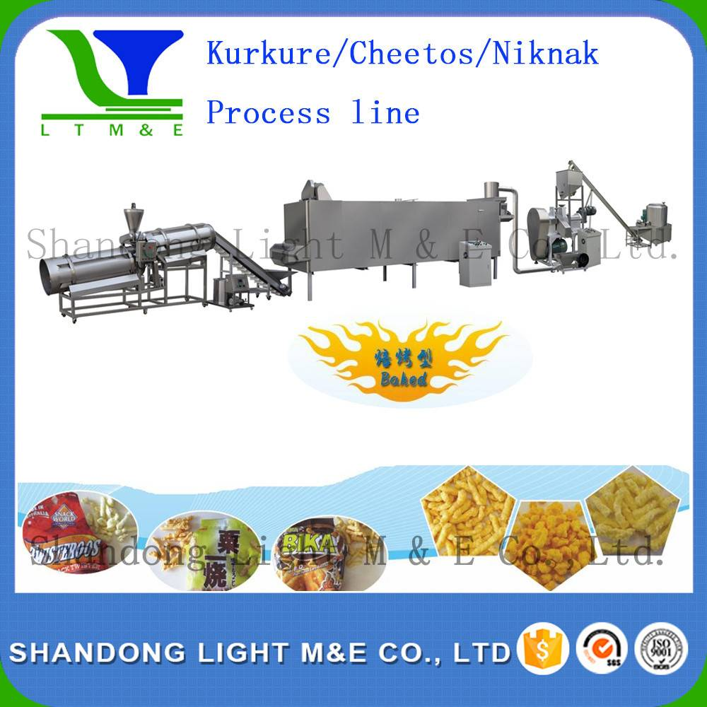 kurkure /cheetos/corn curls processing line
